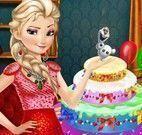 Decorar aniversário da Elsa