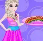 Elsa fazer pizza