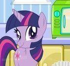 My little Pony preparar cupcakes
