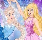 Princesas e Barbie patinadora