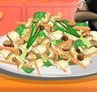 Receita de salada da Mavis