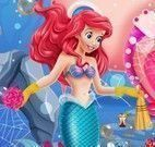 Ariel limpar fundo do mar