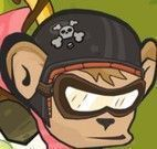 Aventuras moto do macaco