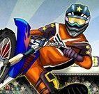 Corrida de moto sensacional