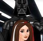 Darth Vader salão de beleza