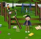 Limpar parque das crianças