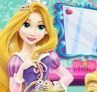 Rapunzel cuidar da gata