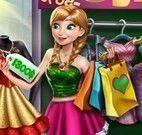 Anna comprar roupas