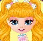 Bebê Barbie decorar mochila da Disney