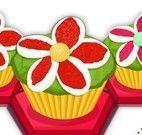 Fazer cupcakes decoração de flores