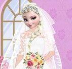 Maquiagem e vestido da noiva Elsa