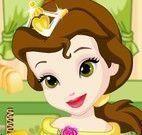 Princesa Bela fazer panquecas