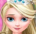 Princesa Elsa cuidar dos gêmeos