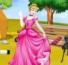 Princesas limpeza do piquenique