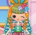Vestir boneca de pano