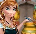 Anna Frozen fazer jarro