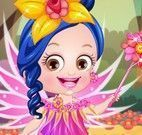 Bebê Hazel roupas de fada princesa