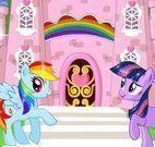 Decorar castelo My Little Pony