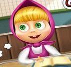 Masha na escola