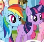 My Little Pony compras no shopping