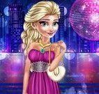 Vestir Elsa na boate