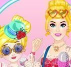 Barbie mãe e filha pop star
