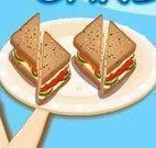 Fazer sanduíche de salmão