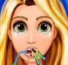 Princesa Rapunzel dentista