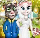 Angela e Tom casamento