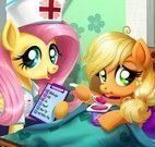 Applejack no médico