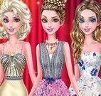 Elsa e amigas na boate