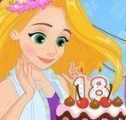 Festa de aniversário da Rapunzel