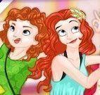 Selfie princesas e Monster High