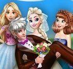 Elsa noiva e amigas