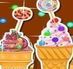 Fazer sorvete de cupcakes na casquinha