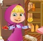 Limpar cozinha com Masha