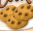 Preparar cookies com chocolate