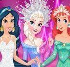 Princesas vestir roupas