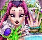 Raven Queen pintar unhas