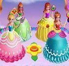 Fazer bolo das princesas