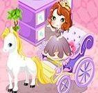 Princesa Sofia decorar carruagem