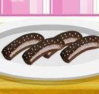 Receita de banana coberta com chocolate