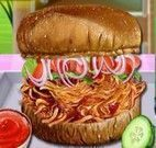 Receita de sanduíche de frango com barbecue