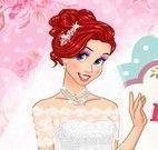 Ariel e Aurora noivas