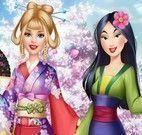 Barbie roupas da Mulan