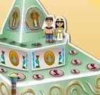 Decorar bolo do casamento Egípcio