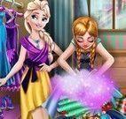 Elsa e Anna arrumar closet