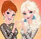 Elsa e Anna na balada