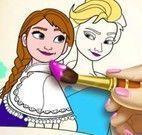 Pintar livro Frozen