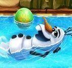 Preparar Olaf para piscina